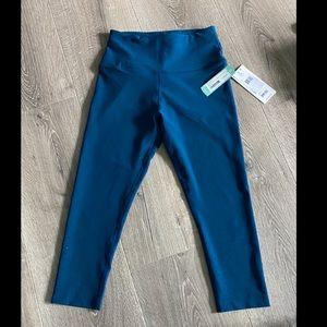 Leggings,capri,blue/turquoise,StitchFix,small